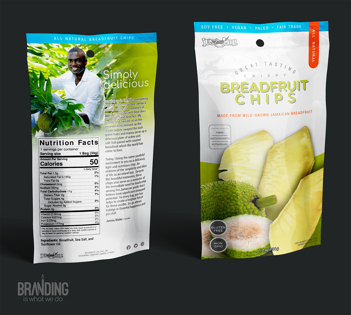 Custom /product Packaging Design for Stand Up Pouch