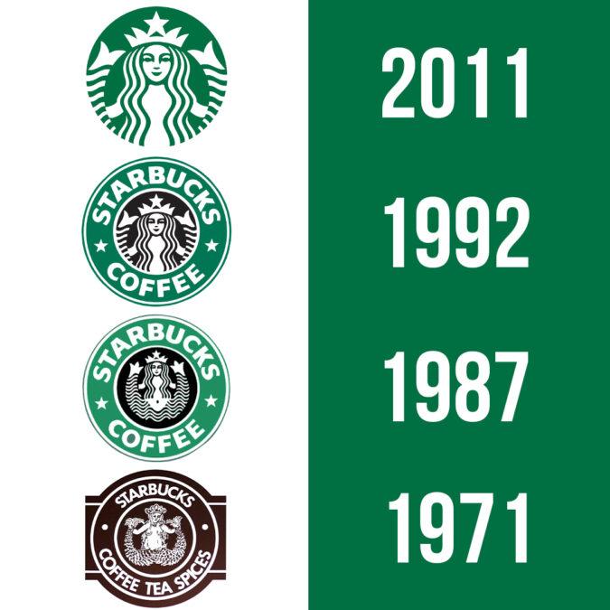 logo design lessons from Starbucks