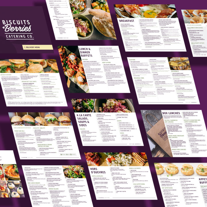Custom Menu Design by Denver Graphic Designer