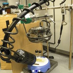 photoreactor setup