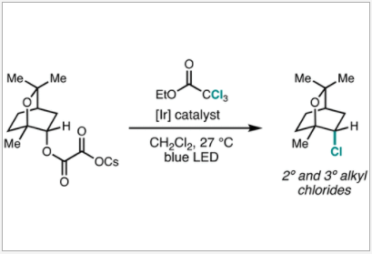 Radical Deoxychlorination of Cesium Oxalates for the Synthesis of Alkyl Chlorides