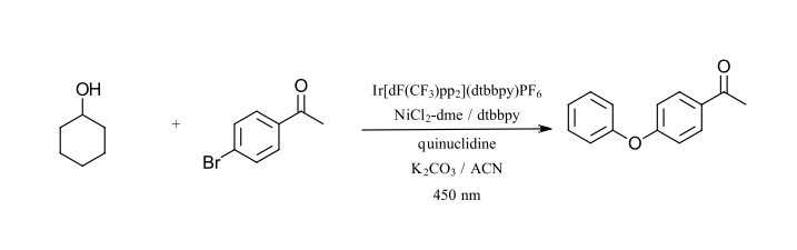 initial photochemistry reactions: C-O bond formation
