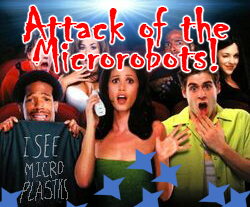 The Attack of the Photocatalytic Microrobots!
