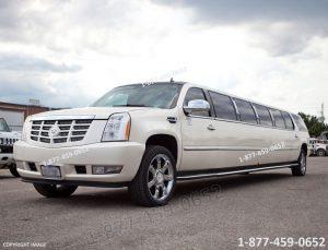 Cadillac Escalade Limo Toronto limo Bus