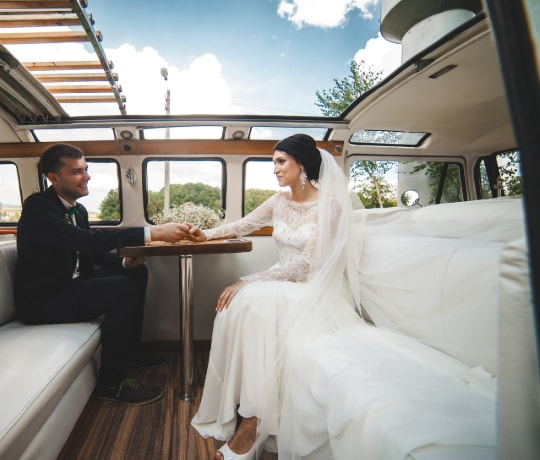 wedding limo party bus 1