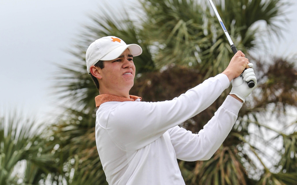 University of Texas golf team during the first day of play in The Hayt Collegiate Invitational 2015 at Sawgrass in EverBank Field Friday, February 27, 2015 in Ponte Vedra Beach, Fla.. (Gary Lloyd McCullough)