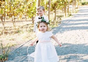 Tips On Getting Your Flower Girl/Ring Bearer Down The Aisle
