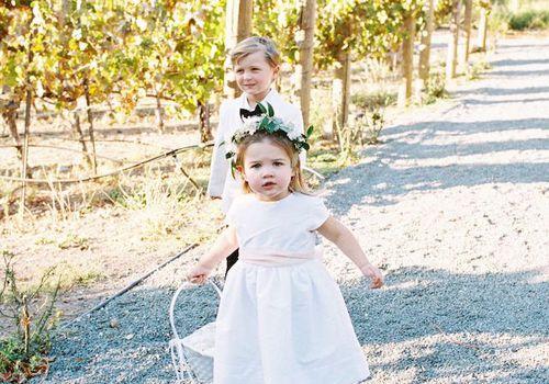 Tips On Getting Your Flower Girl/Ring Bearer Down The Aisle