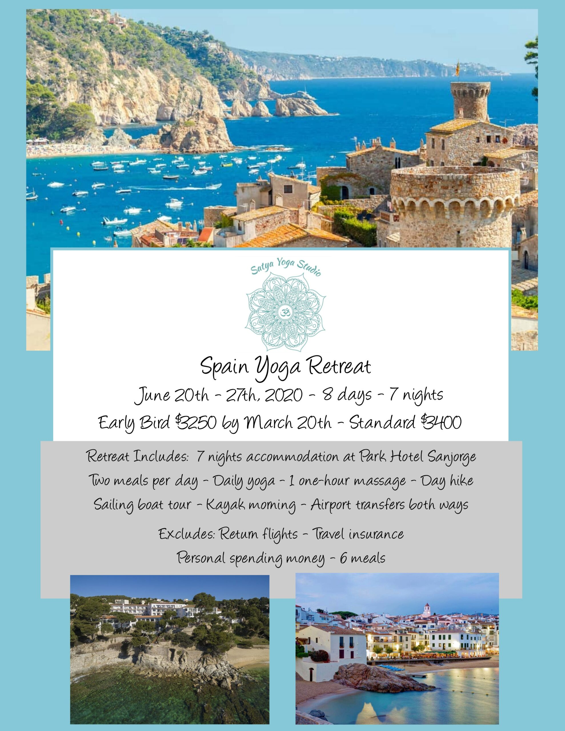 Spain Yoga Retreat -Website