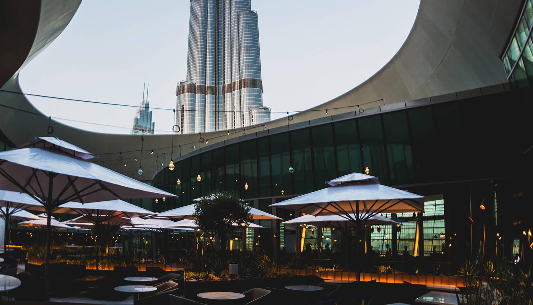 The Loft Terrace - The Loft at Dubai Opera