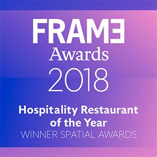 Hospitality Restaurant of the Year – Winner Spatial Awards