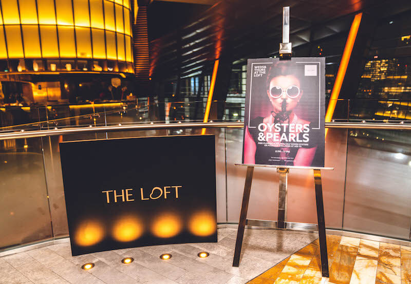 Oysters & Pearls - The Loft at Dubai Opera