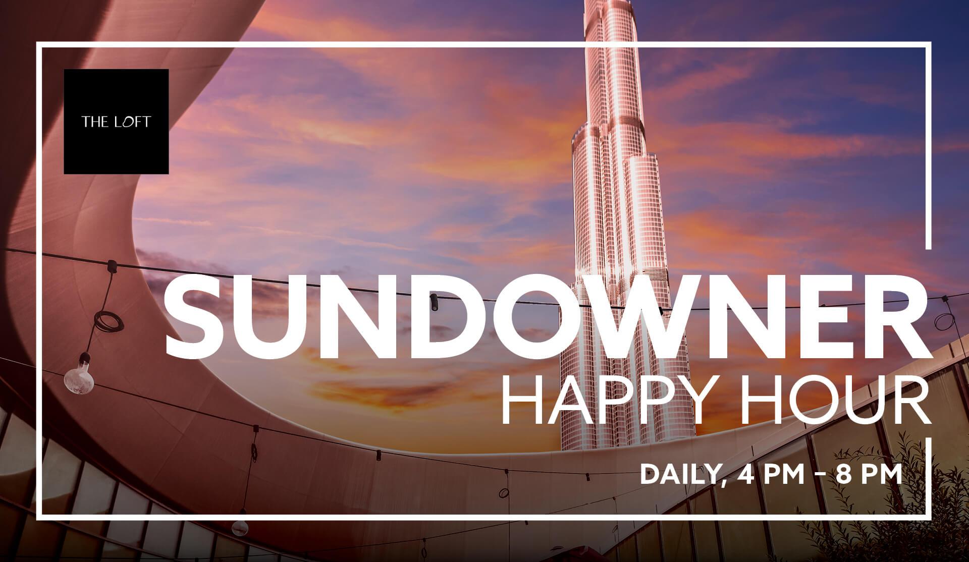 Sundowner Happy Hour