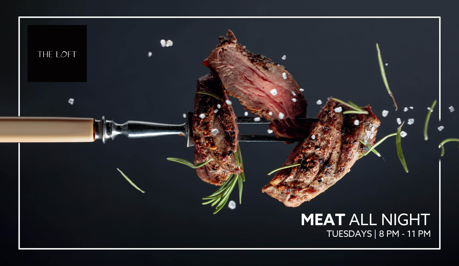 Meat All Night - The Loft at Dubai Opera