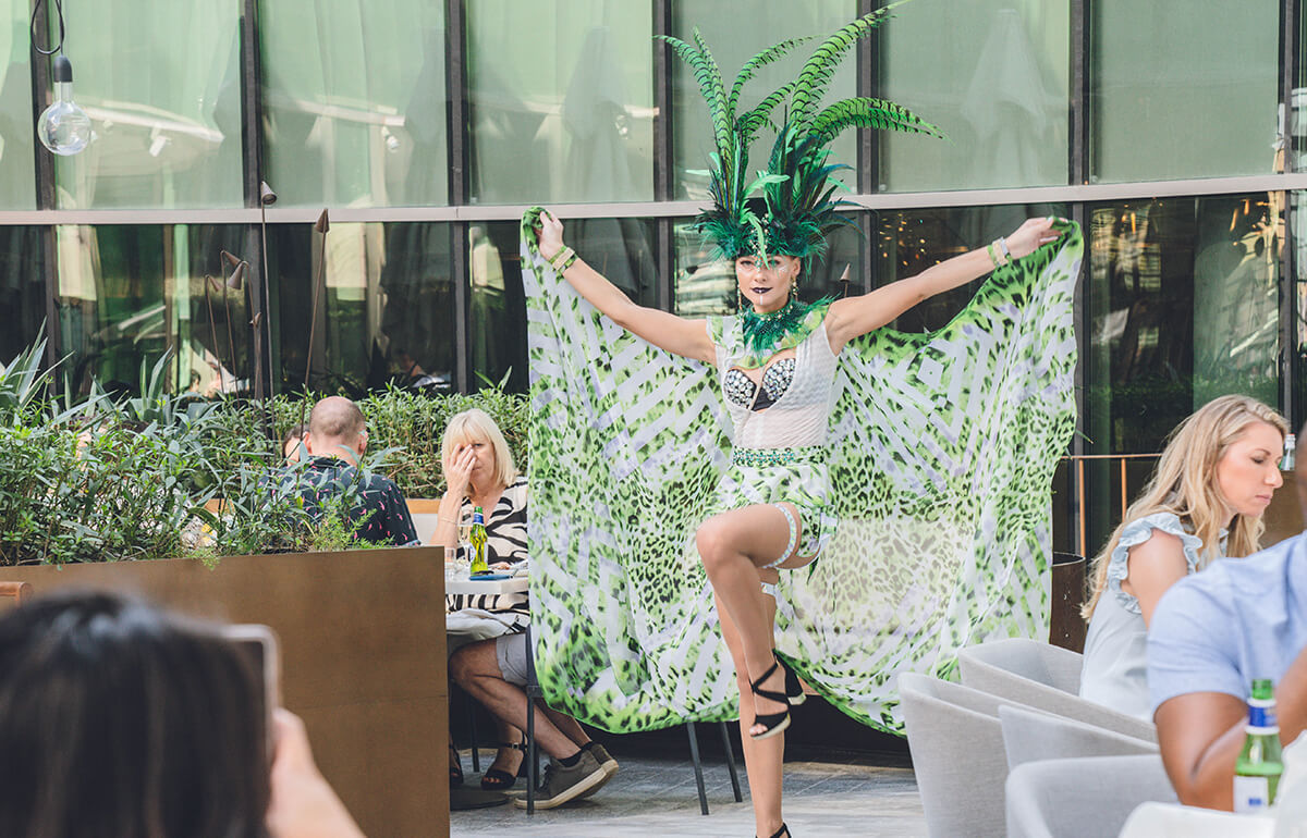 Rooftop Party Brunch Goes Rio - The Loft at Dubai Opera