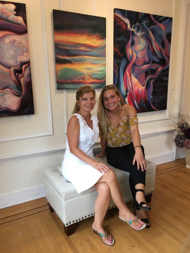Paula with Tess.