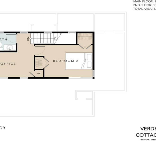 Verde Village Phase 1 Cottage 3 floor plan