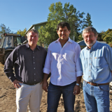 Mark Knox, Laz Ayala, Dave DeCarlow (from left to right)