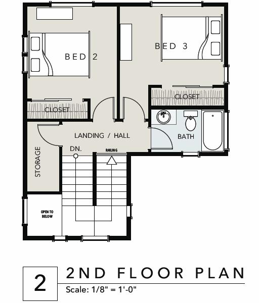 Verde village type 3 floor plan upstairs