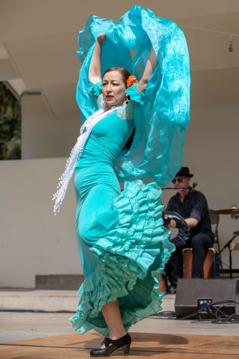 Dancing Performance at the Ashland World Music Festival