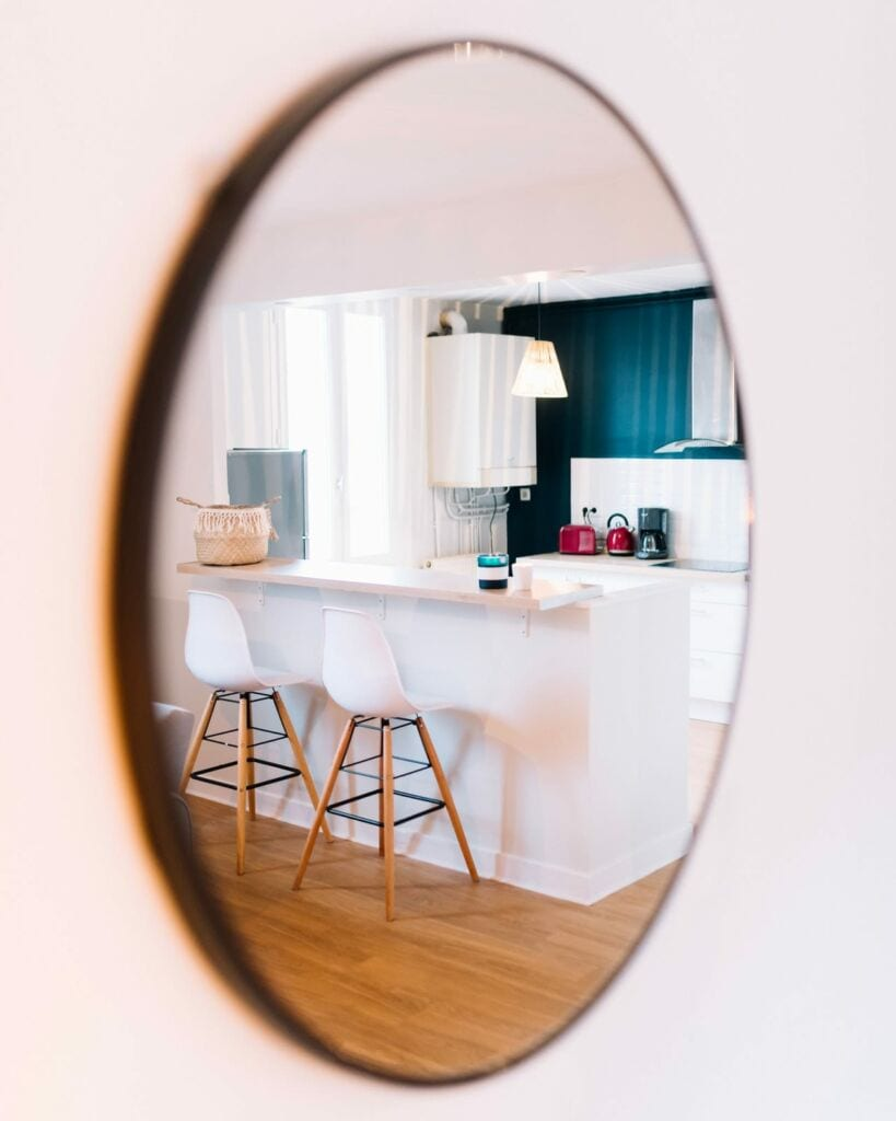 Give Your Hallways A New Dimension With A Few Mirrors