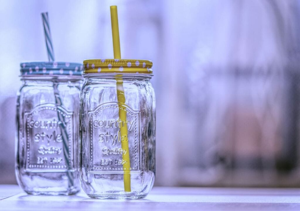 Taking Reusable To Go Jars For Your Daily Drinks Is A Great Way To Live A More Eco Friendly Life