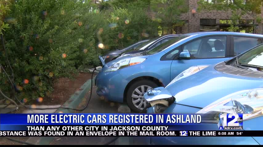 More Electric Cars Registered In Ashland