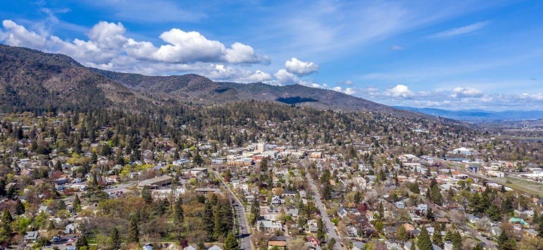 Ashland, Oregon Looking North