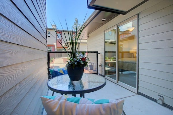 patio at Phillips Corner