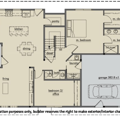 Kestrel Park Floor Plan - Lot 2