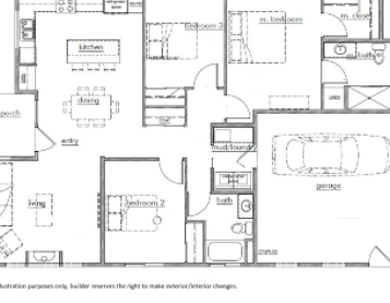 Kestrel Park Floor Plan - Lot 3