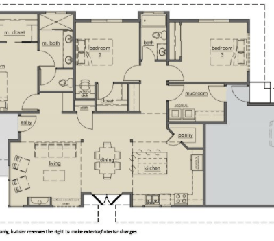 Kestrel Park Floor plan - Lot 9