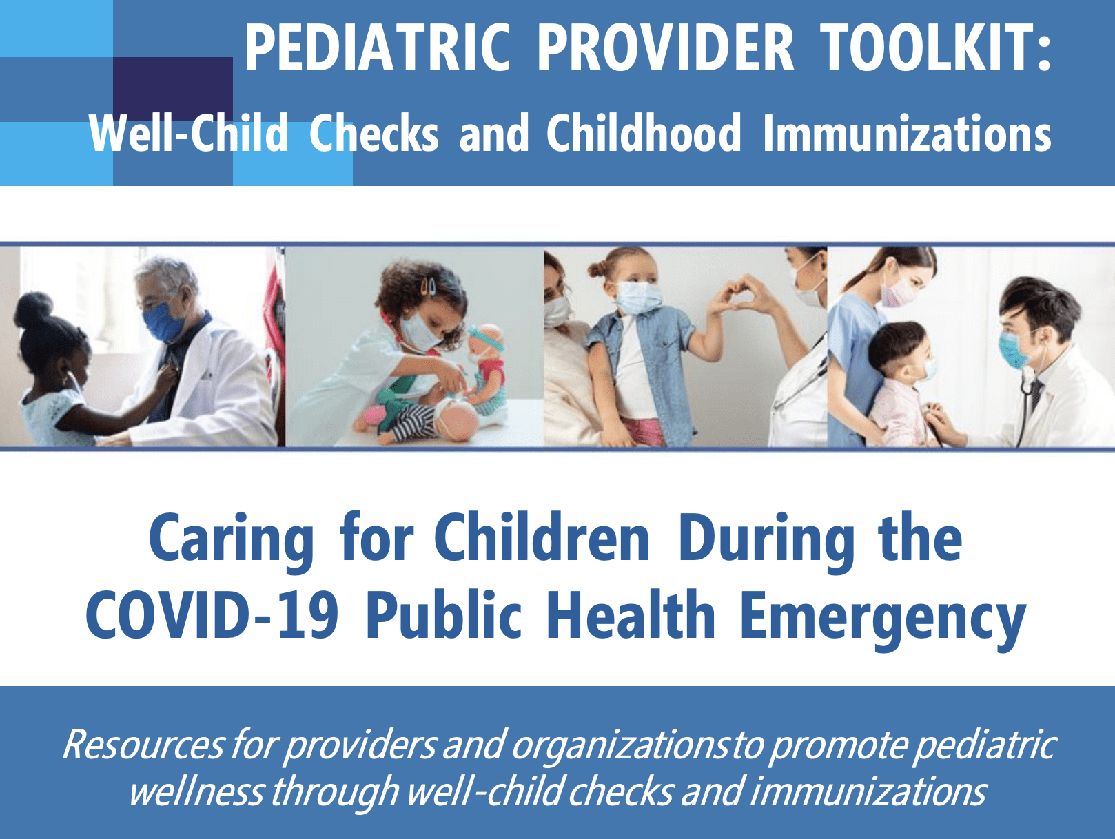 Provider Toolkit: Caring for Children During COVID 19