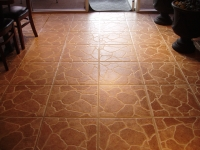 After- Tile and Grout Clean