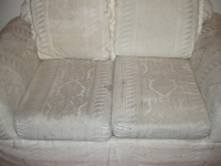 Couch - Sofa Before Cleaning with Rotovac