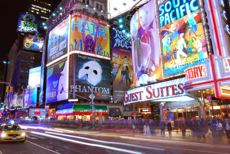 Limousines New York Time Square