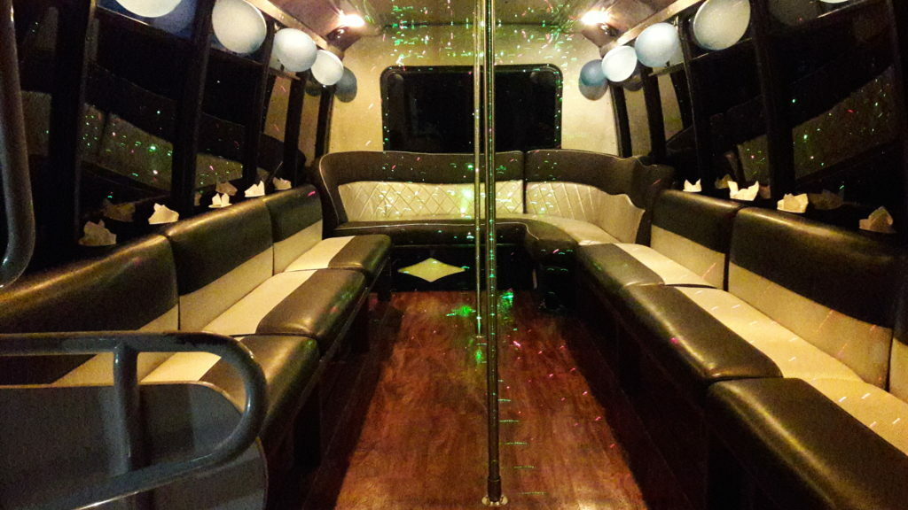 nyc wedding party bus picture