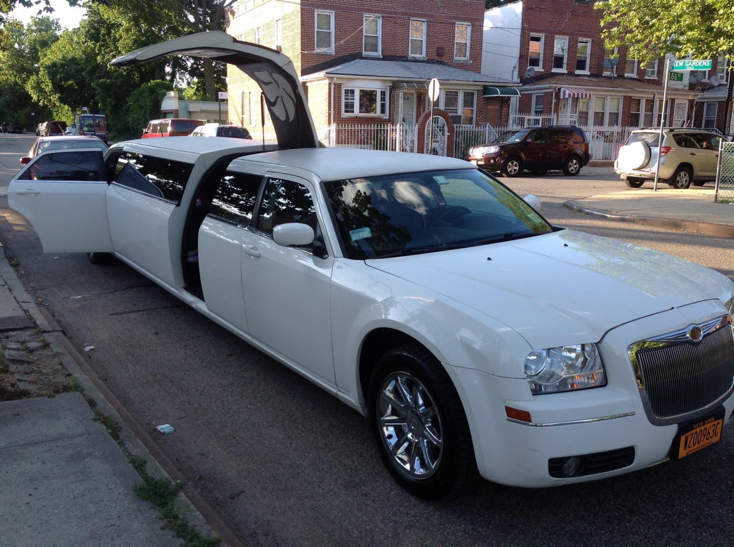 Our new york city wedding limo