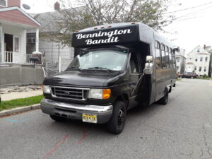 New York Limos Bennington Bandit Bus Pic Outside View