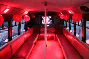 New York City Limos Queen Anne Party Bus