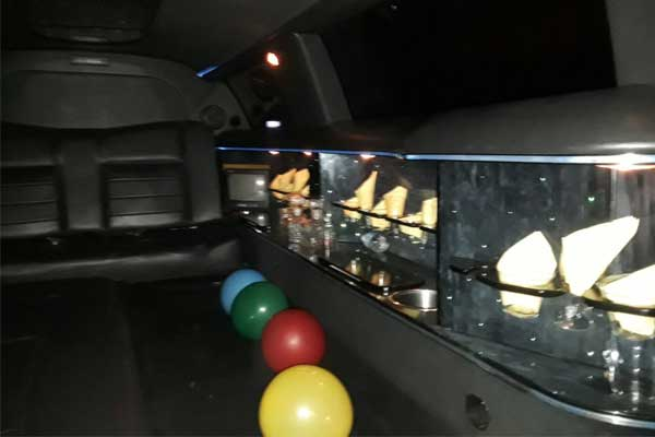 inside the bob limo at new york city limo providers