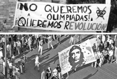¡No queremos olimpiadas! ¡Queremos revolución!