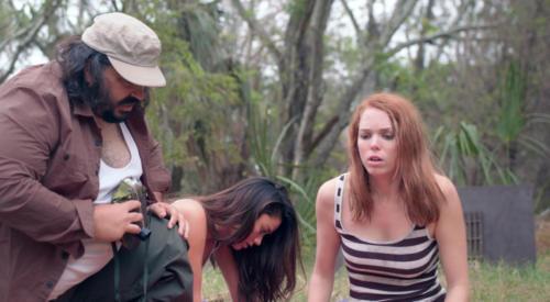 Robert Alvarez, Janine Cygan and Kelsey Carlisle (Photo by Richard Doucette)