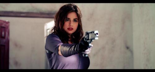 Jordan Phipps as Agent Sixx (Photo by Richard Doucette)