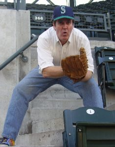 tim playing catch