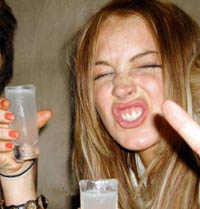 Lindsay Lohan is NOT a milkaholic!