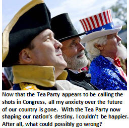 The Tea Party's bold plans to eliminate the debt completely by December 17th