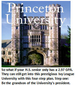 VFTB's Failsafe five-step strategy to guarantee your kid a spot in Princeton