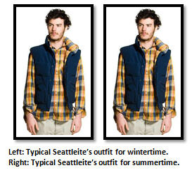 Seattle - summer clothing