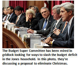 Household Budget Super Committee Reaches 11th Hour Compromise